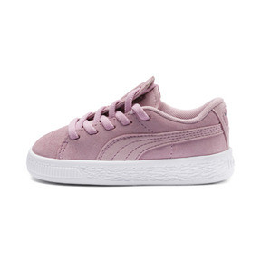 Thumbnail 1 of Suede Crush AC Toddler Shoes, Pale Pink-Puma Silver, medium