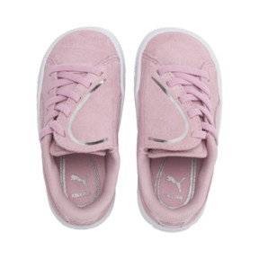 Thumbnail 6 of Suede Crush AC Toddler Shoes, Pale Pink-Puma Silver, medium
