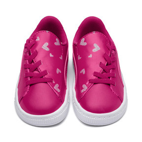 Basket Crush Glitter Hearts AC Sneakers PS