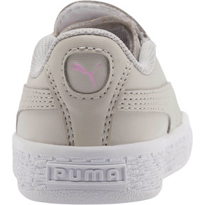 Thumbnail 3 of Basket Crush Glitter Hearts AC Toddler Shoes, Gray Violet-Puma White, medium