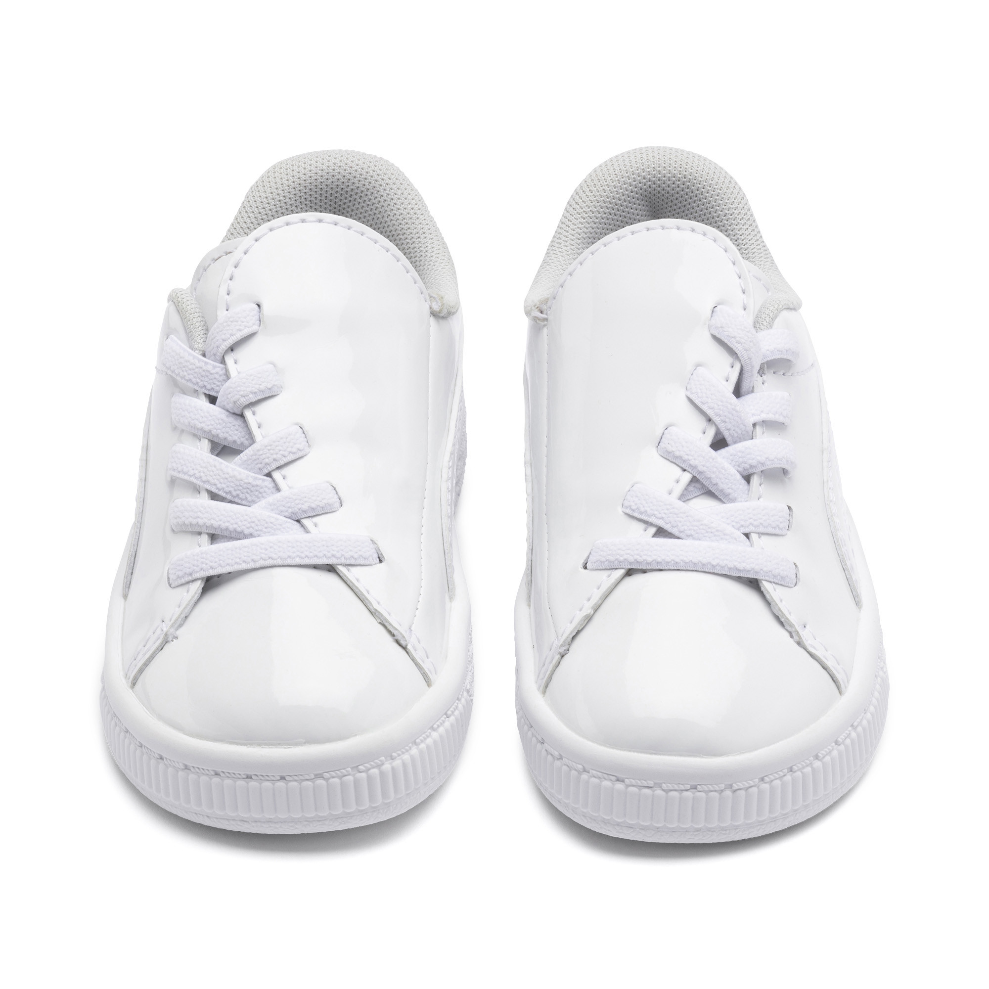 Image Puma Basket Crush Patent Kids' PreSchool Sneakers #7