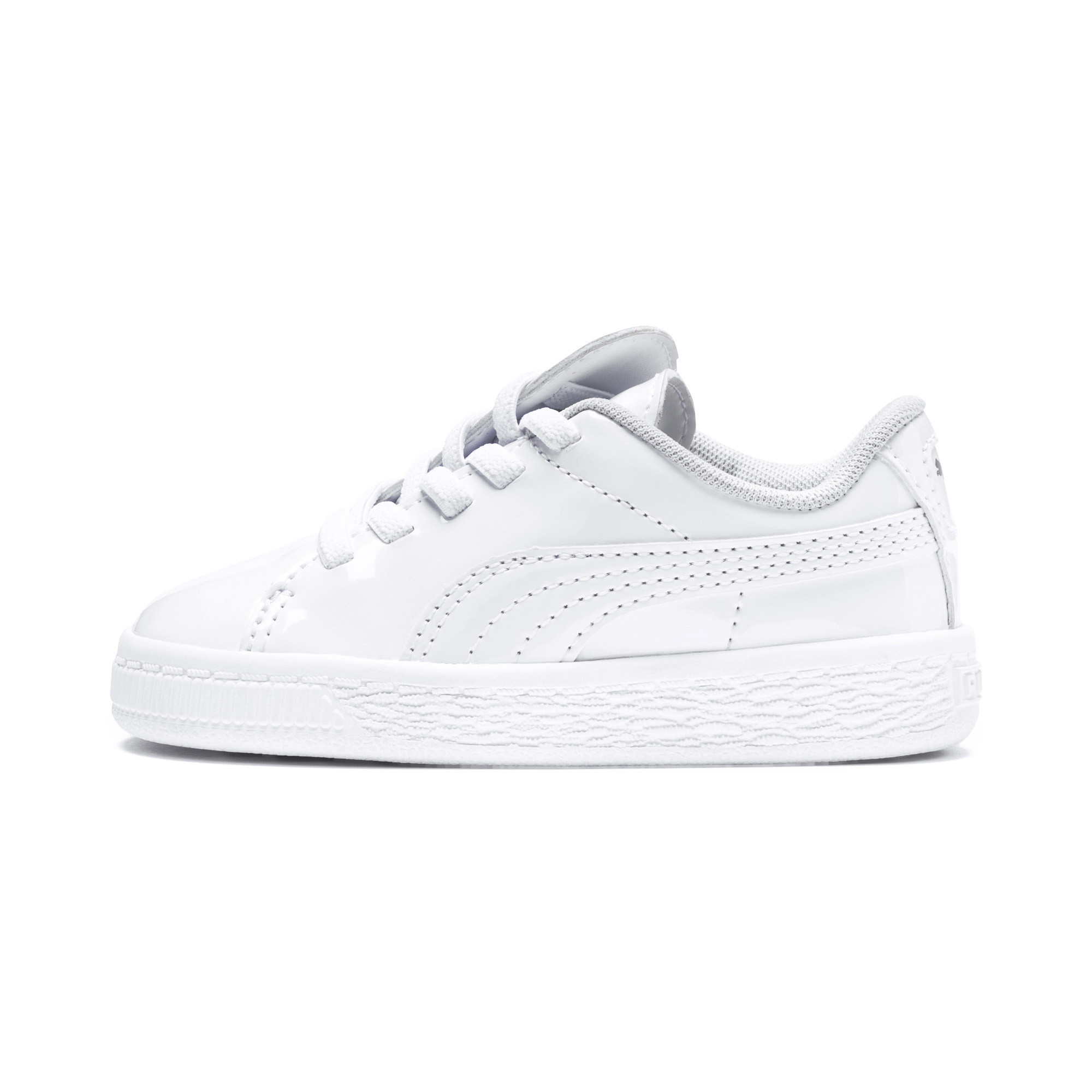 Image Puma Basket Crush Patent Kids' PreSchool Sneakers #1