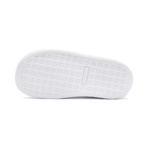 Thumbnail 4 of Basket Crush Patent AC Sneakers PS, Puma White-Puma White, medium