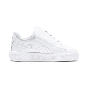 Thumbnail 5 of Basket Crush Patent AC Sneakers PS, Puma White-Puma White, medium