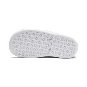 Thumbnail 4 of Basket Crush Patent AC Sneakers PS, Puma Black-Puma White, medium
