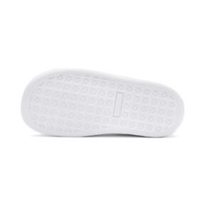 Thumbnail 4 of Basket Crush Patent AC Toddler Shoes, Puma White-Puma White, medium