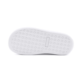 Thumbnail 4 of Chaussure Basket Studs pour fillette, Puma White-Puma Team Gold, medium