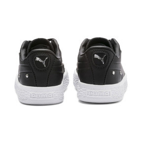Thumbnail 3 of Chaussure Basket Studs pour bébé fille, Puma Black-Puma Silver, medium