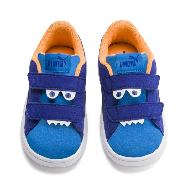 Smash v2 Monster Kinder Sneaker, Sf Th Wb-I Bunting-Ornge-Wht, large