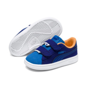Thumbnail 2 of PUMA Smash v2 Monster Sneakers PS, Sf Th Wb-I Bunting-Ornge-Wht, medium