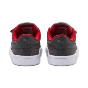 Thumbnail 3 of PUMA Smash v2 Monster Sneakers PS, Asphalt-C. Gray-Red-White, medium