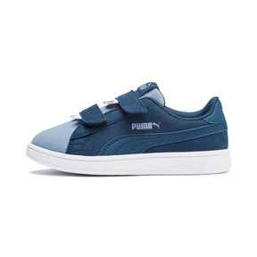 Thumbnail 1 of Smash v2 Monster Kids' Trainers, Gibraltar Sea-Faded Denim, medium