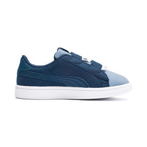 Thumbnail 5 of Smash v2 Monster Kids' Trainers, Gibraltar Sea-Faded Denim, medium