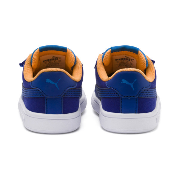 PUMA Smash v2 Monster Toddler Shoes, Sf Th Wb-I Bunting-Ornge-Wht, large