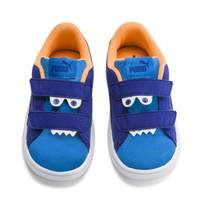 PUMA Smash v2 babysneakers met monster