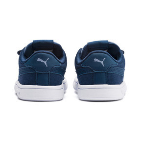 Thumbnail 3 of PUMA Smash v2 Monster Babies' Trainers, Gibraltar Sea-Faded Denim, medium