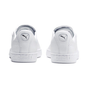 Thumbnail 4 of Basket Crush Perf Women's Sneakers, Puma White-Puma White, medium