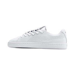 Thumbnail 1 of Basket Crush Perf Women's Sneakers, Puma White-Puma White, medium