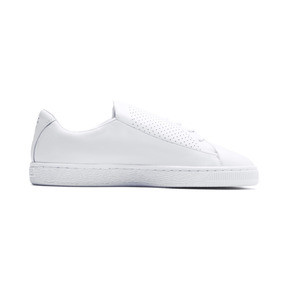 Thumbnail 7 of Basket Crush Perf Women's Sneakers, Puma White-Puma White, medium