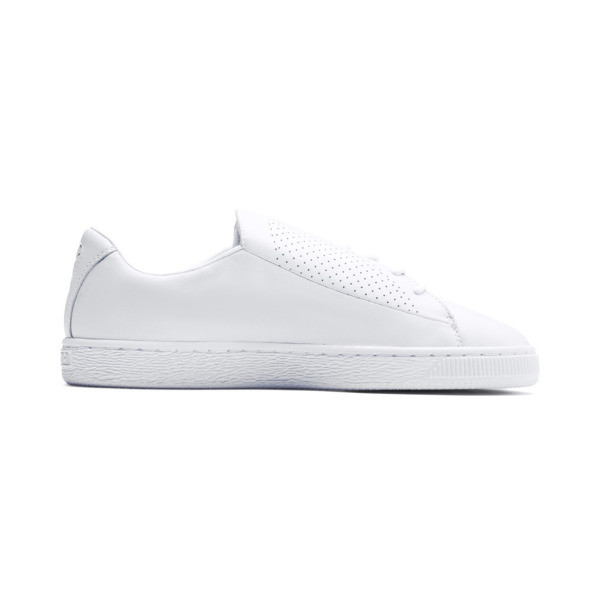 Basket Crush Perf Women's Sneakers, Puma White-Puma White, large