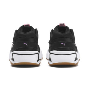 Thumbnail 3 of Nova '90s Bloc Kid Girls' Trainers, Puma Black, medium