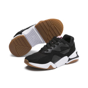 Thumbnail 2 of Nova '90s Bloc Kids Mädchen Sneaker, Puma Black, medium