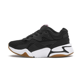 Thumbnail 1 of Nova '90s Bloc Kid Girls' Trainers, Puma Black, medium