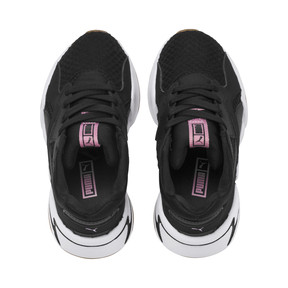 Thumbnail 6 of Nova '90s Bloc Kid Girls' Trainers, Puma Black, medium