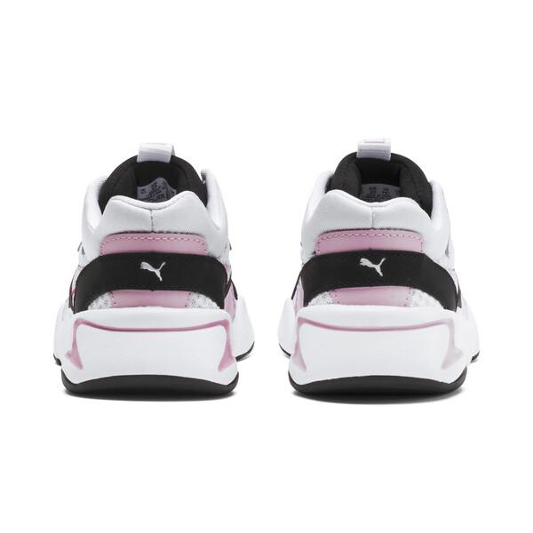 Basket Nova '90s Bloc Kids pour fille, Puma Black-Puma White, large