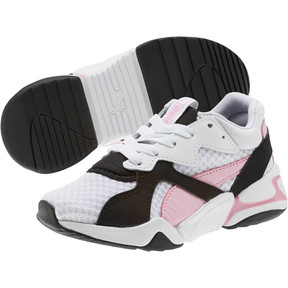 Thumbnail 2 of Nova '90s Bloc Sneakers PS, Puma Black-Puma White, medium