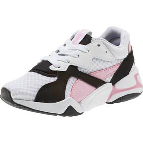 Thumbnail 1 of Nova '90s Bloc Sneakers PS, Puma Black-Puma White, medium