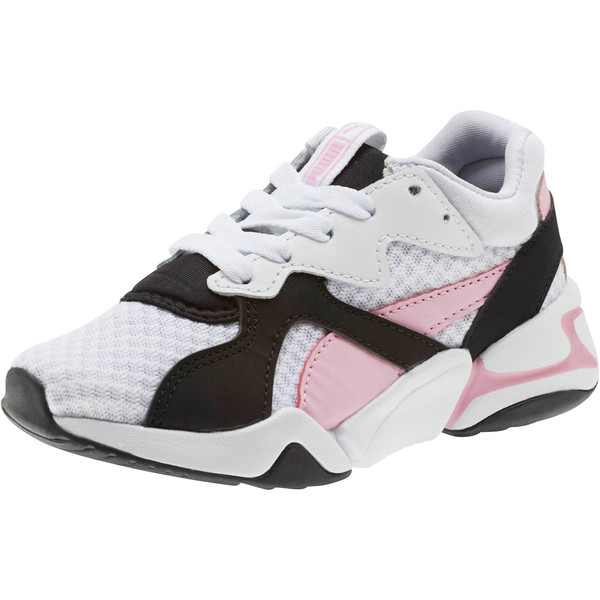 Nova '90s Bloc Sneakers PS, Puma Black-Puma White, large