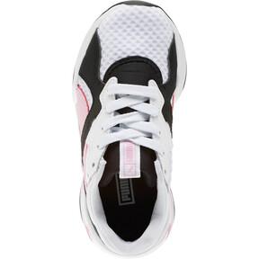 Thumbnail 5 of Nova '90s Bloc Sneakers PS, Puma Black-Puma White, medium