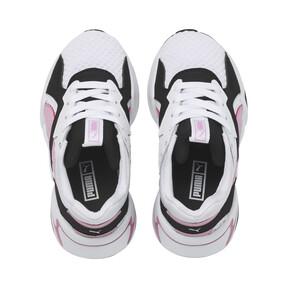 Thumbnail 6 of Basket Nova '90s Bloc Kids pour fille, Puma Black-Puma White, medium