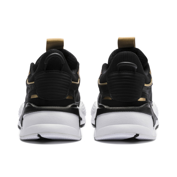 Zapatillas de niño RS-X Trophy, Puma Black-Puma Team Gold, grande