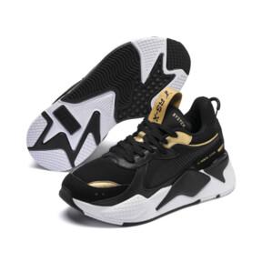 Thumbnail 2 of RS-X Trophy Youth Sneaker, Puma Black-Puma Team Gold, medium