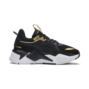 Thumbnail 5 of RS-X Trophy Youth Trainers, Puma Black-Puma Team Gold, medium