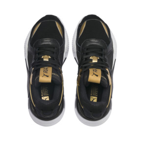 Thumbnail 6 of RS-X Trophy Youth Sneaker, Puma Black-Puma Team Gold, medium
