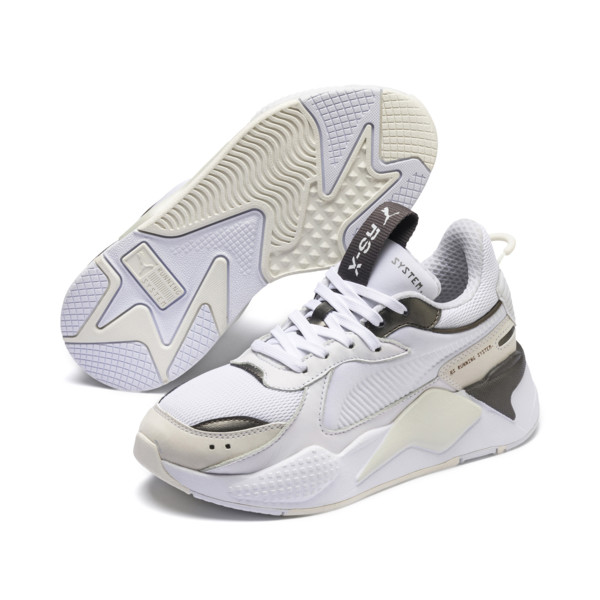 Basket RS-X Trophy Youth, Puma White-Bronze, large