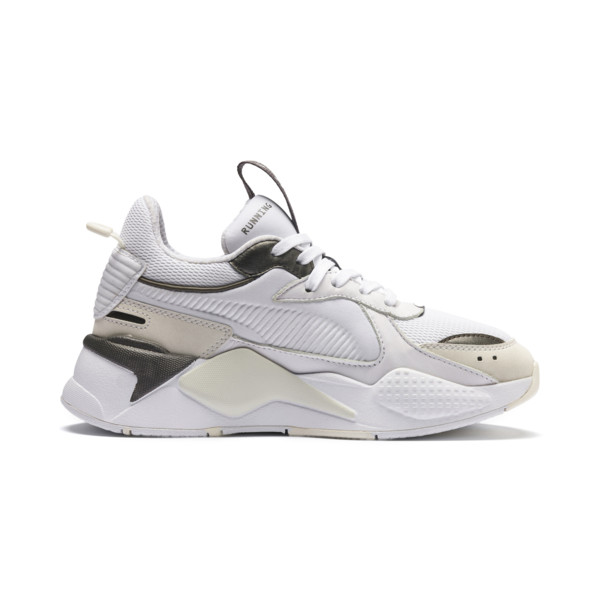 RS-X Trophy Youth Sneaker, Puma White-Bronze, large
