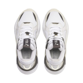 Thumbnail 6 of RS-X Trophy Youth Trainers, Puma White-Bronze, medium