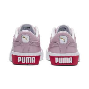 Miniatura 3 de Zapatos Cali Little para niños, Puma White-Hibiscus, mediano