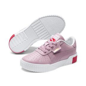 Miniatura 2 de Zapatos Cali Little para niños, Puma White-Hibiscus, mediano