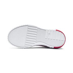 Miniatura 4 de Zapatos Cali Little para niños, Puma White-Hibiscus, mediano