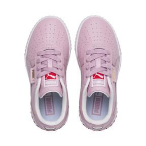 Miniatura 6 de Zapatos Cali Little para niños, Puma White-Hibiscus, mediano