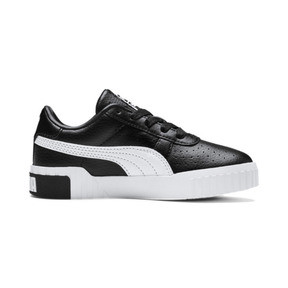 Thumbnail 5 of Cali Girls' Trainers, Puma Black-Puma Team Gold, medium