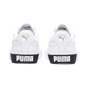 Thumbnail 3 of Cali Little Kids' Shoes, Puma White-Puma Black, medium