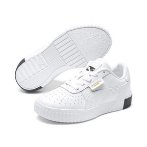 Thumbnail 2 of Cali Little Kids' Shoes, Puma White-Puma Black, medium