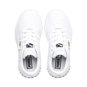 Thumbnail 6 of Cali Little Kids' Shoes, Puma White-Puma Black, medium