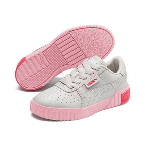 Thumbnail 2 of Cali Girls' Trainers, Gray Violet-Calypso Coral, medium